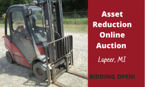 Michigan asset reduction auction