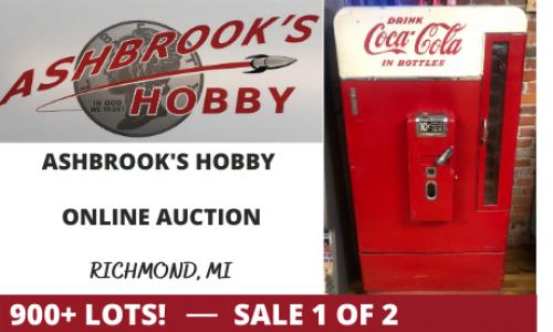 Michigan Coca Cola Machine Online Auction