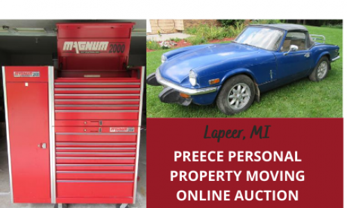 Online Moving auction michigan