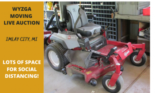 Michigan tool equipment live auction