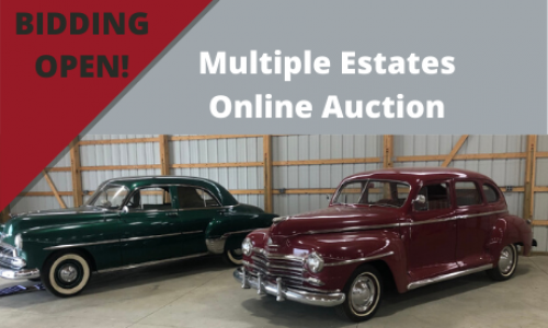 Michigan classic car online auction