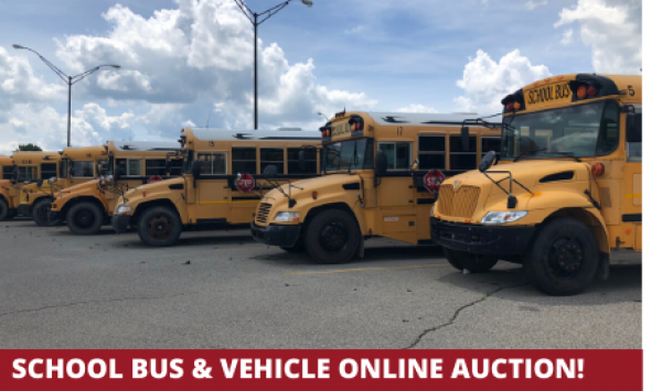 Michigan School Bus online auction