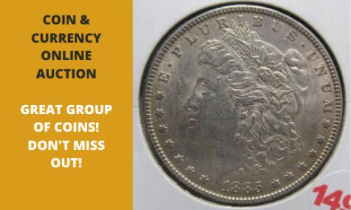 Michigan online coin auction